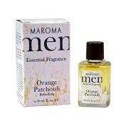 Men Orange Patchouli Fragrance Maroma 10 Ml Liquid