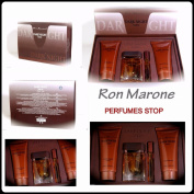 Dark Night 4pc Gift Set By Ron Marones Eau De Toilette 100ml 3.4fl.oz for Men