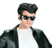 New - Greaser Wig Black