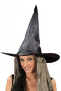 New - Witch Hat W Hair Taffeta