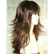 THZ women's long curly wavy mix blonde wigs cosplay fashion wigs