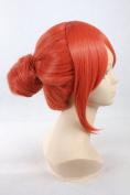 Gintama Kagura rabbit night orange Cosplay Wigs