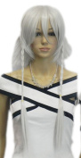 Winson 2012 New Design Grey Straight Long Knoted Plait Cosplay Party Club Wig