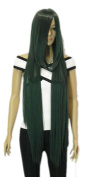 Winson Dark Sea Green Long Sexy Gorgeous Cosplay Full Synthetic Wig Girl