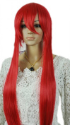 Winson Extra Long Wine Red Cosplay Straight Full wig Vocaloid Hatsune Miku