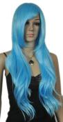 Winson Fashion Cosplay Women Lady Full Synthetic Ramp Bangs Medium Wavy Wig