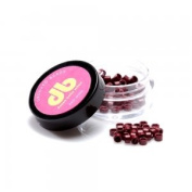 New - Grooved Bead - Red Wine Donna Bella Milan