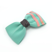 Meilliwish Silk Bow Women Girls Hair Clip(C04)