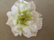 Peony Tulip Artificial Flower Hair Clip/Pin Brooch