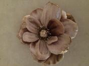 Velvet Anemone Artificial Flower Hair Clip/Pin Brooch
