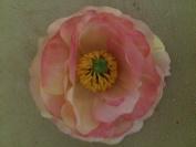 Medium Ranunculus Artificial Flower Hair Clip/Pin Brooch