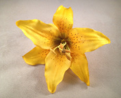 Tiger Lily Artificial Flower Hair Clip/Pin Brooch