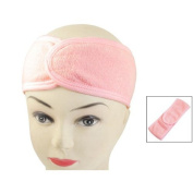 Sonline Spa Bath Shower Make Up Wash Face Cosmetic Headband Hair Band Pink
