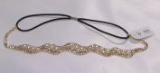 Hair Accessory ~Rhinestones Cream Artificial Pearls Head Chain Head Band