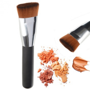 Kaith Flat Contour Brush Foundation Brush Makeup Brushes-1 PCS Best Liquid Foundation Brush, Blending Brush, Face Brush â˜.