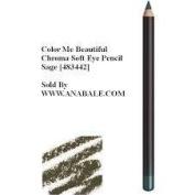 Colour Me Beautiful - Chroma Soft Eye Pencil, Sage [483442]