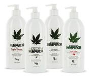 Hemperor Moisturisers Gift Set - 4 Bottles