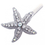 Starfish Wedding Flower Girl Bridesmaid Magnet Hair Clip Pin
