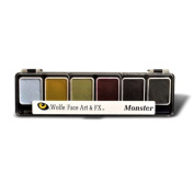 Wolfe F/X 6 Colour Palette - Monster