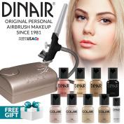 Dinair Airbrush Makeup Kit Personal Pro Fair Shades