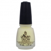 China Glaze Ghoulish Glow - Glow In The Dark Top Coat