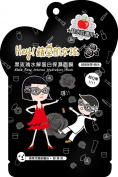 Hey! Pinkgo Girl Black Rose Collagen Intense Hydration Sheet Mask 10pcs - Intense Moisturising and Smoothing