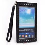 Multi function Cellphone wallet case | keeps your phone, cash and cards neatly organised| New Ships out of the USA|Universal fit for