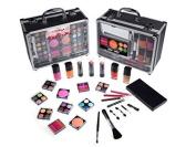 Cameo Train Makeup Kit with Reusable Aluminium Case Gift Set