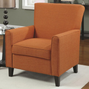 Coaster Home Furnishings Casual Accent Chair, Cappuccino