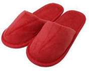 TowelRobes Kids Terry Closed Toe Slippers