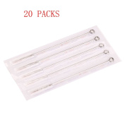 Z ZTATO Professional 100pcs 5M1 Stainless Steel Professional Tattoo Needles Round Liner 5M1-100pcs