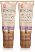Jergens Natural Glow - 3 Days to Glow Moisturiser Medium to Tan Skin, 120ml