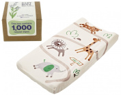 Summer Infant Ultra Plush Change Pad with Baby Wipes Solution, Safari