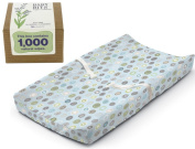 Summer Infant Ultra Plush Change Pad with Baby Wipes Solution, Blue Swirl
