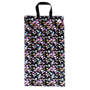 Large Hanging Wet Dry Bag for Cloth Nappies or Laundry