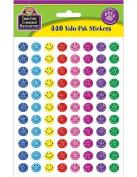 Teacher Created Resources Mini Happy Face Sparkle Stickers Valu-Pak, Multi Colour