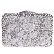 Fawziya® Floral Purse And Handbags For Women Clutches With Rhinestones