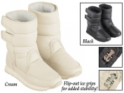 Collections Etc Fleeced Lined Slip Resistant Winter Boots