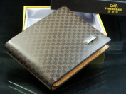 vanki Mens Pockets Leather Wallet Purse Card Clutch Coin Bifold