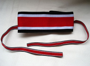 WWii WW2 German 1939 Knights Iron Cross Ribbon with Neck Ties for WH/Heer/Waffen SS/M32/M36/M41 Officer Military Uniform for Militaria Collectibles