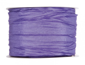 FloristryWarehouse Lilac Purple Pleated Taffeta Fabric Ribbon 6.1cm x 11 yards roll. Made in Germany