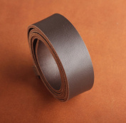 AAA grade PASSION genuine leather belt leather strip 3.8cm x 120cm leather rope 4mm thick