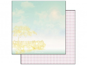 Webster's Pages Strawberry Paper 12x12 Dream On