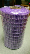 Lavender Deco Mesh Roll - 14cm Wide