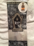 R.I.P Tombstone Cello Treat Bags (20) with Ties
