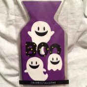 Ghosts Cello Treat Bags (15) with Ties