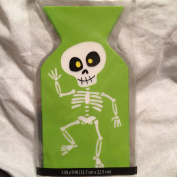 Skeleton Cello Treat Bags (15) with Ties