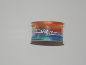 CelebrateIt Rainbow Pattern Wire-edged 3.8cm . x 3.7m 100% Polyester Ribbon - Great for Any Occasion!