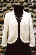 Oat Couture Knitting Pattern GU409 - Seville Jacket