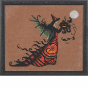 Electra LINEN Kit Beaded Counted Cross Stitch by Nora Corbett Mirabilia Designs NC219 Bewitching Pixies (Bundle